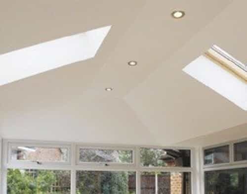 Hybrid conservatory roof